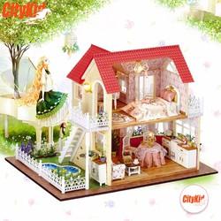 Mô hình nhà gỗ DIY Cute Room A-033