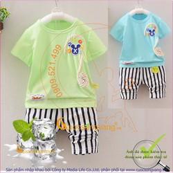 Hàng nhập - Bộ quần áo bé trai mùa hè GLSET029
