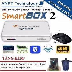 VNPT Smartbox 2 - TẶNG CHUỘT KHÔNG DÂY + ÁO MƯA CAO CẤP