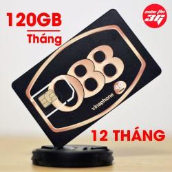 SIM 3G 4G Vinaphone Tặng 120GB Mỗi Tháng Với 4GB trên Ngày