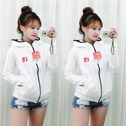 áo khoác nữ vãi thun da cá cực mềm