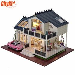 Mô hình nhà gỗ DIY Cute Room A-032
