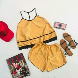 Set short mặc ngủ siêu xinh ph10