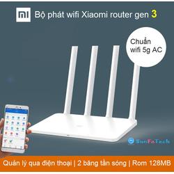 Bộ phát sóng wifi Xiaomi mi router Gen 3