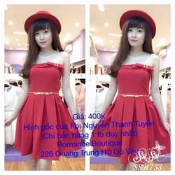 SuSu Shop - Đầm xòe cúp ngưc - SSH753