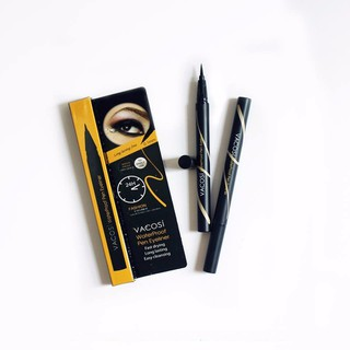 Bút kẻ mắt nước Vacosi Waterproof Pen Eyeliner - Vacosi Waterproof Pen Eyeliner thumbnail