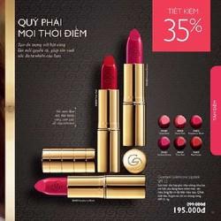 Son môi Giordani Gold Iconic Lipstick SPF 15