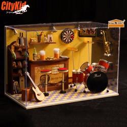 Mô hình nhà gỗ diy Cute Room T-008