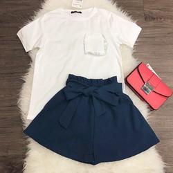 Set áo thun kèm quần short