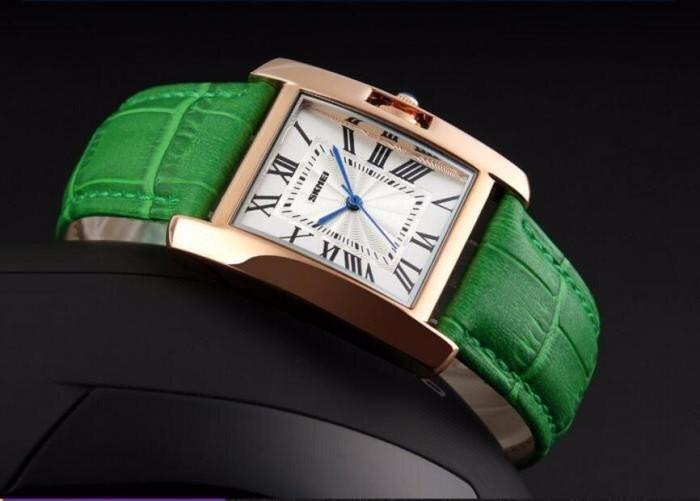 Đồng hồ nữ dây da SKMEI 3