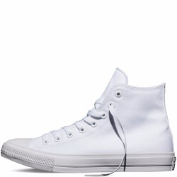 Giày Sneaker CK2 Trắng  Cổ Cao - Nữ