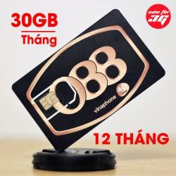 SIM 3G 4G Vinaphone Tặng 30GB Mỗi Tháng Với 1GB trên Ngày