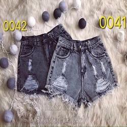 Quần short jean nữ