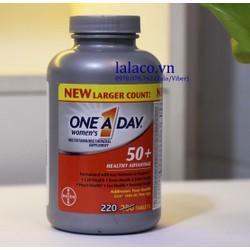 One A Day Women 50 Advantage Vitamins 220 Viên Mỹ
