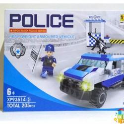 Mô hình lắp ghép xe cảnh sát xp935145