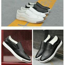 giày mọi nam da cao cấp