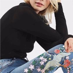 Quần jeans nữ thêu