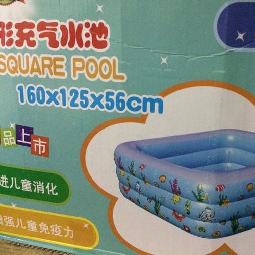Bể bơi 3 tầng 1m60