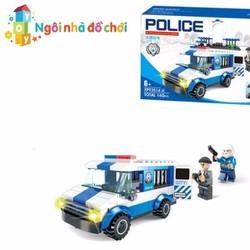 Mô hình lắp ghép xe cảnh sát bắt cướp xp935144