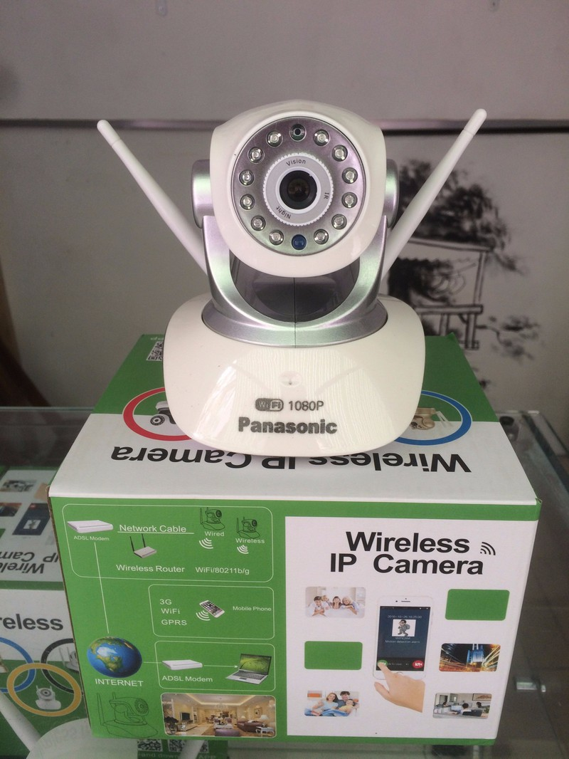 CAMERA KHÔNG DÂY IP WIFI 360 ĐỘ FULL HD1080P 2.0Mpx HSP2PCAMERA 2