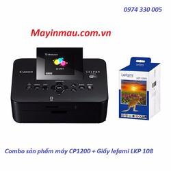 CP1200 + giấy in ảnh Lefami