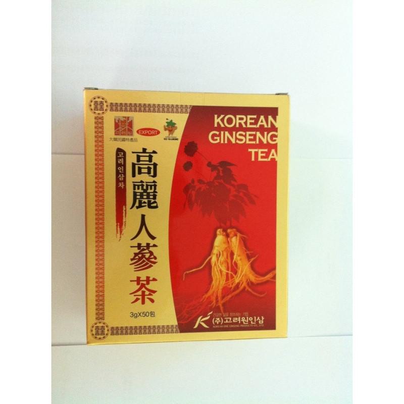 Thực phẩm bảo vệ sức khỏe Trà sâm Korean Ginseng Tea 1