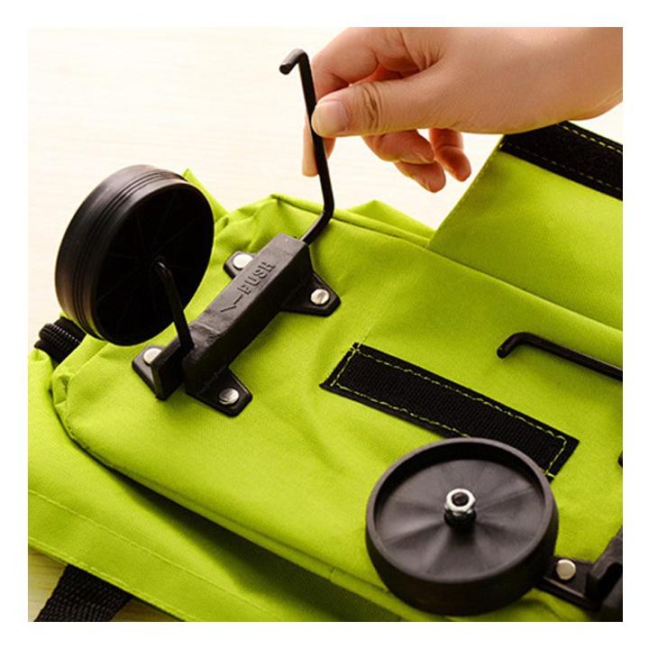 Túi xách đi chợ đa năng có bánh xe kéo 2