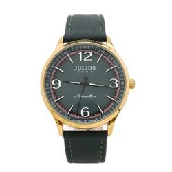 Đồng hồ nam Hàn Quốc dây da 1181