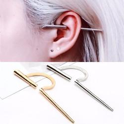 Khuyên tai kẹp 1 bên cực cá tính BT41