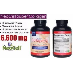 Viên uống Super Collagen C Type 1và 3 Neocell, 6000mg plus Vitamin C