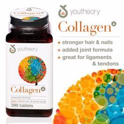 Viên uốngCollagen Youtheory Type 1 2 và 3, hộp 390 viêncủa Mỹ