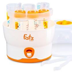 MÁY TIỆT TRÙNG 6 BÌNH HƠI NƯỚC KHÔNG BPA FATZBABY FB4019SL