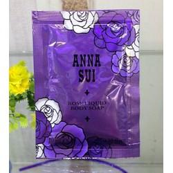 Combo 5 gói Sample Sữa tắm hương nước hoa Anna Sui
