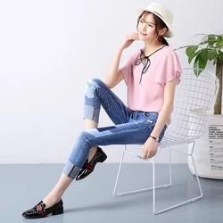 quần jean phong cách trẻ trung