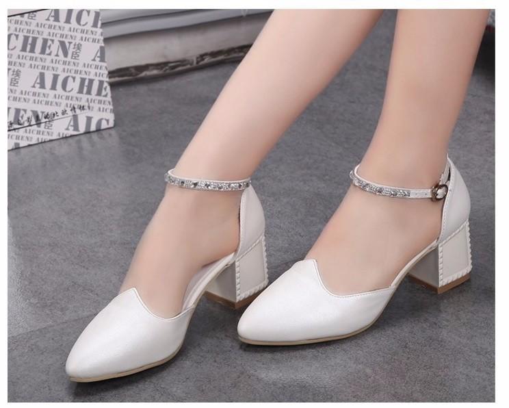 Giày búp bê quai ngọc trai - GN230 4