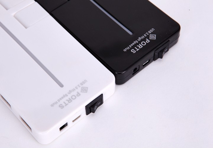 Hub USB 10 Port Tốc Độ Cao 2.0 7
