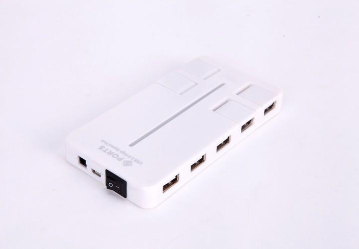 Hub USB 10 Port Tốc Độ Cao 2.0 6