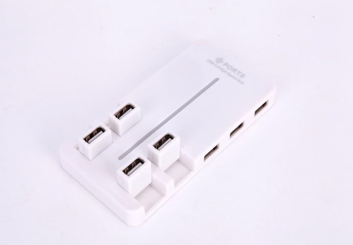 Hub USB 10 Port Tốc Độ Cao 2.0 5