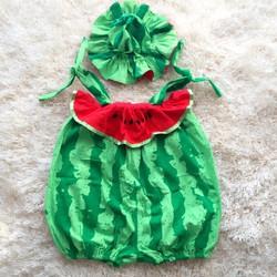Bộ quần áo trái cây cho bé trai và gái - dưa hấu
