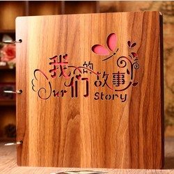Album Gỗ DIY Love Story L29