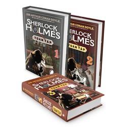 Sherlock Holmes Toàn Tập Trọn Bộ 3 Tập - Bìa cứng