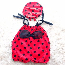 Bộ quần áo sơ sinh trái cây cho bé trai và gái - Ong đỏ