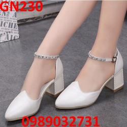 Giày búp bê quai ngọc trai - GN230
