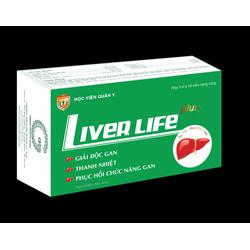 2 hộp LIVER LIFE PLUS-Giải độc gan-Học viện quân y