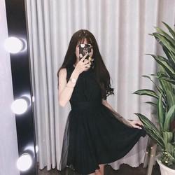váy ren lưới đi tiệc