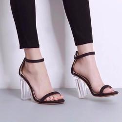 Giày cao gót trong sang trọng , quý phái Lady-LDCG16