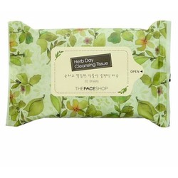 GIẤY TẨY TRANG THEFACESHOP HERB DAY CLEANSING TISSUE
