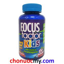 Focus Factor For Kids - Bổ sung vitamin phát triển trí não cho trẻ