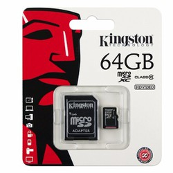 Thẻ nhớ Kingston Micro SDHC - 64G