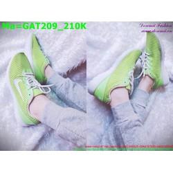 Giày thể thao nam cổ thấp màu xanh lá trẻ trung GAT209
